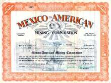 Mexico-American Mining Corporation - Arizona