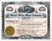 Mexico Silver Mines Company - Arizona