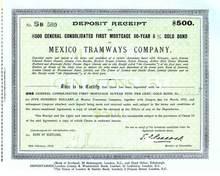 Mexico Tramways Company - 1916