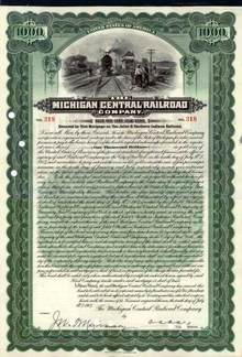 Michigan Central Railroad Company 1907