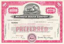 Michigan Sugar Company - Covered Wagon Vignette