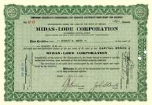 Midas-Lode Corporation - Nevada