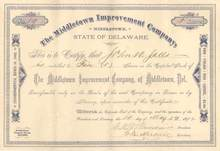 Middletown Improvement Company 1892