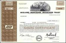 Midland Mortgage Investors Trust ( Now Centennial Group, Inc. )
