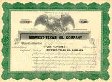 Midwest Texas Oil Company 1923