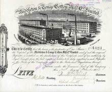 Middleton & Tonge Cotton Mill Company, Ltd. 1875