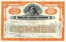 Midland United Company 1931
