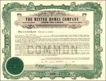 Minter Homes Company 1920