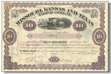 Missouri, Kansas and Texas Railway Company 1886