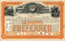 Missouri, Kansas and Texas Railway Company 1893
