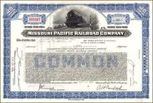 Missouri Pacific Railroad Company - Train Vignette