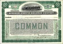 Missouri Pacific Railroad Company 1922 - 1931