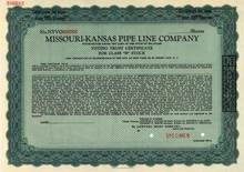 Missouri-Kansas Pipe Line Company ( Early Duke Energy Company)