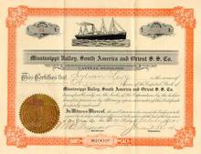 Mississippi Valley, South America and Orient Steamship Company 1911
