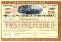 Mobile and Ohio Rail Road Company 1879