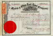 Mobile and Ohio Rail Road Company 1868 - 1870