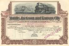 Mobile Jackson and Kansas City Railroad Company 1904