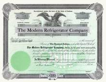 Modern Refrigerator Company 1920's