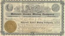 Mohawk Annex Mining Company - Goldfield Nevada - 1907