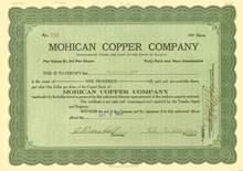 Mohican Copper Company 1918 - Plomosa District, Yuma County, Arizona
