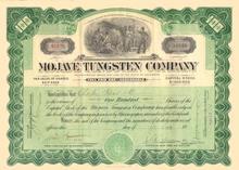 Mojave Tungsen Company 1916 - California