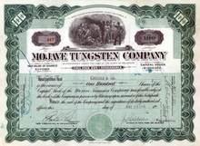 Mojave Tungsten Company 1916 - San Bernardino, Califonnia