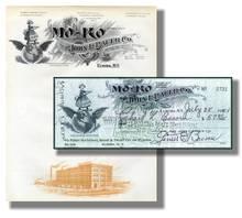 MoKo Company Check and Letterhead - Nice Vignettes