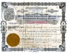 Monte Christo Consolidated Mining and Development Company, Ltd. 1898