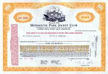 Monmouth Park Jockey Club - Issued to David A. Werblin