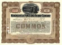 Monongahela Power and Railway Company 1922