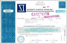 Moody's Capital Fund, Inc. 1968