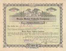 Moore Motor Vehicle Company 1917