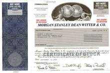Morgan Stanley Dean Witter & Co.