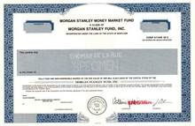 Morgan Stanley Fund, Inc.