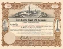 Muddy Creek Oil Company 1917 - Wyoming