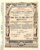 Municipiul Bucuresti (Muni Bond from Romania) 1912