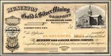 Munckton Gold & Silver Mining Company 187X - Mono County, California