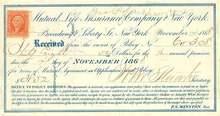 Mutual Life Insurance Company 1868 - 1870