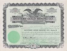 Mystery Gold Mining Company - Colorado