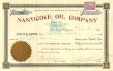 Nanticoke Oil Company 1901