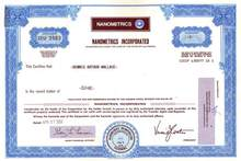 Nanometrics, Inc.
