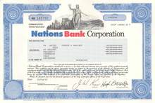 Nations Bank Corporation