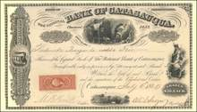 National Bank of Catasauqua - 1868 Civil War Tax Stamp