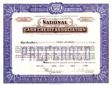 National Cash Credit Association 1930