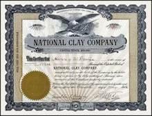 National Clay Company 1912
