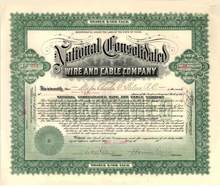 National Consolidated Wire and Cable 1906