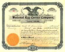 National Egg Carrier Company 1903