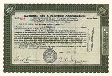 National Gas & Electric Corporation