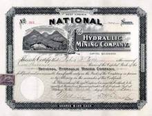 National Hydraulic Mining Company 1901 - Cariboo District, British Columbia