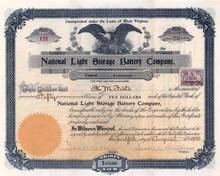 National Light and Storage Battery Company 1899